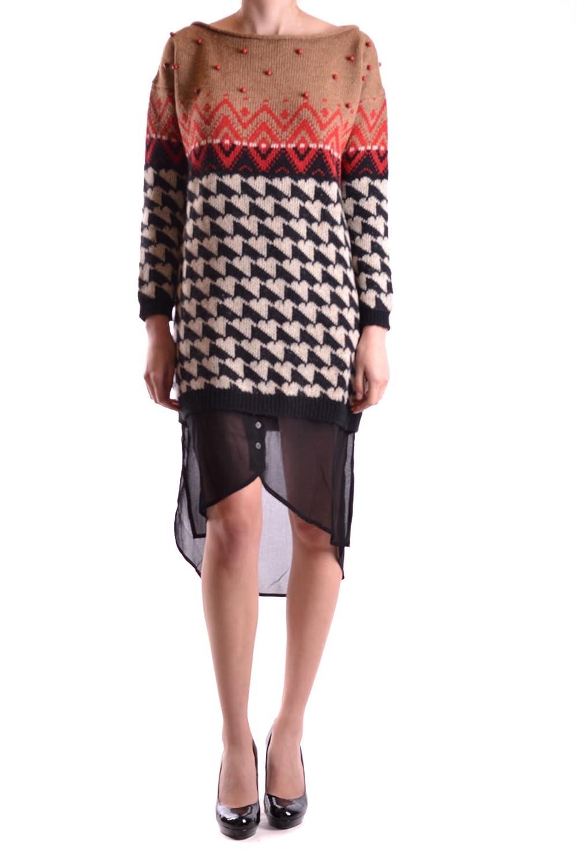 Dress pr739 Twin-set Simona Barbieri Donna light brown