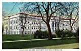 Springfield, Missouri - Southwest State Teacher's College Educational Bldg (36x54 Giclee Gallery Print, Wall Decor Travel Poster)