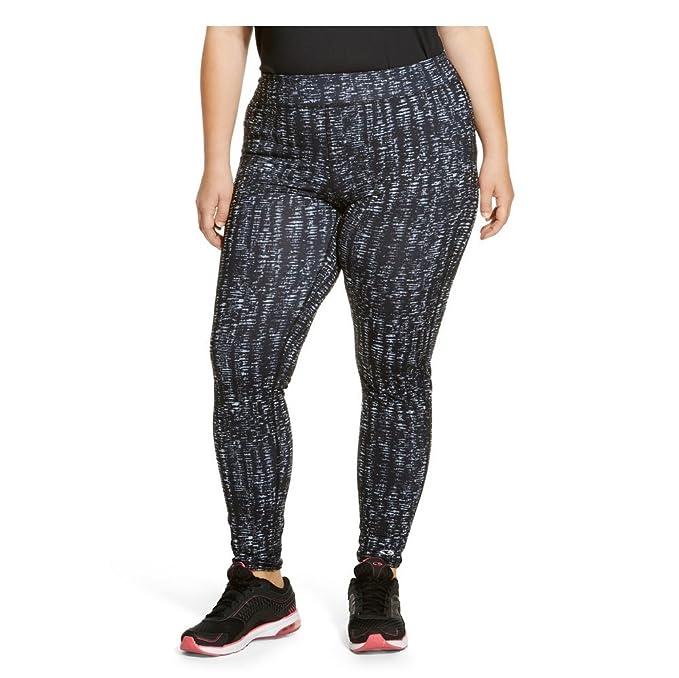 03f1f96828fa69 Champion Women's Plus-Size Woven Leggings (2X Plus, Grey Quartz) at Amazon  Women's Clothing store:
