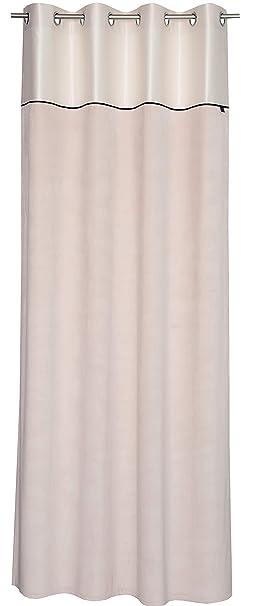 SG home Royal Cortina Cortinas Cortinas Stores – Tamaño 140 x 250 cm – Colores Gris