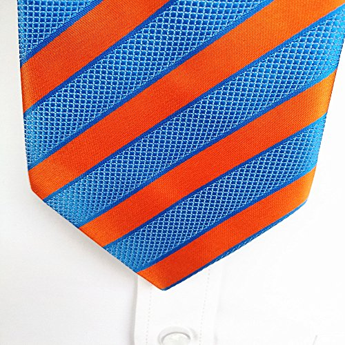 silk tie blue man tie business FYios trade Tie tie big orange foreign stripe fT4Xzw