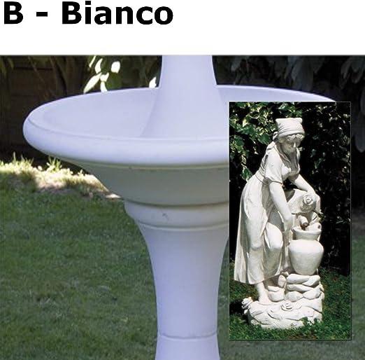 Estatuas de jardín Condina con ánfora, 33 x 100 cm, B-Bianco: Amazon.es: Jardín