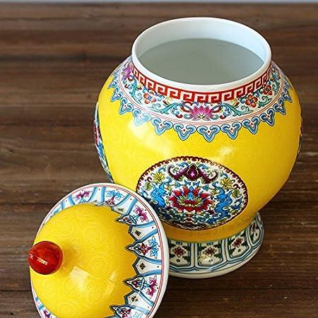 Jingdezhen Chinese Historical Decoration Tank Ceramic Tseung Kwan