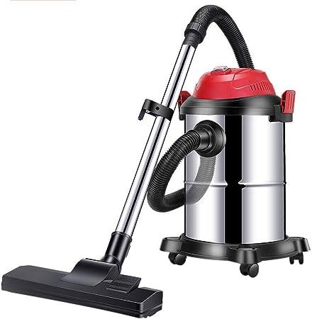 TY-Vacuum Cleaner MMM@ Aspirador Aspirador doméstico de succión Grande de 1200 vatios Aspirador en seco y húmedo Tres Barril de Mano Deshumidificador silencioso Industrial Comercial Aspirador: Amazon.es: Hogar