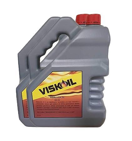 Viskoil 10 litros de Aceite hidráulico ISO 68 líquido antidesgaste ...