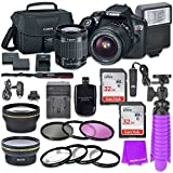 Canon EOS Rebel T6 DSLR Camera Bundle with Canon EF-S 18-55mm f/3.5-5.6 IS II Lens + 2pc Sandisk 32gb Memory + Canon Camera Bag + Spare Canon Original Battery + Value Accessory Kit Review