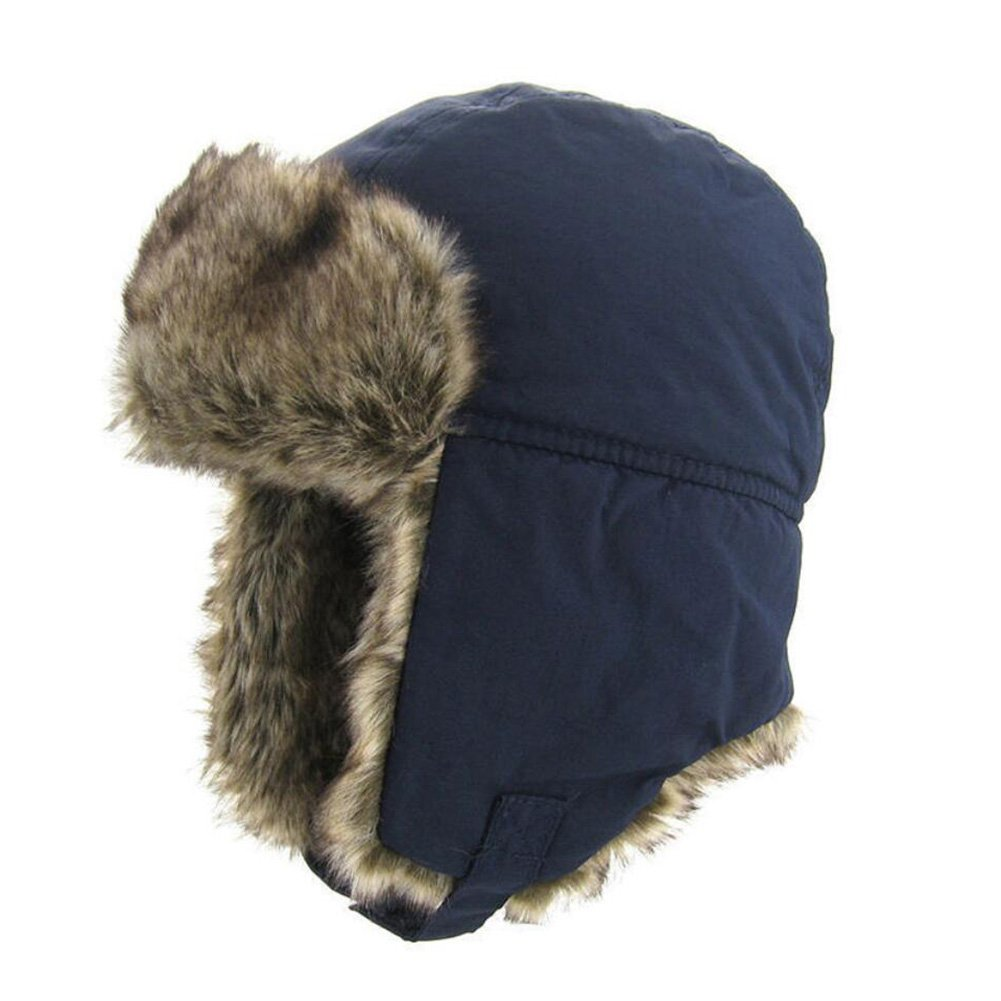 Upsmile Boy Ushanka Hat Girl Bomber Hat Cap Earflap Trapper Hat Ski Hunting Cap Cold Weather Hat