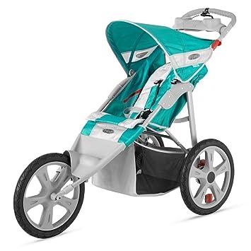 Amazon.com: Empeine Flash Single bebé fijo rueda carriola ...