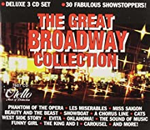 The Great Broadway Collection Deluxe 3 CD Set