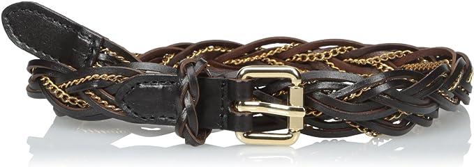 Womens Carla-Vegan Chain Detail Waist Belt elise m