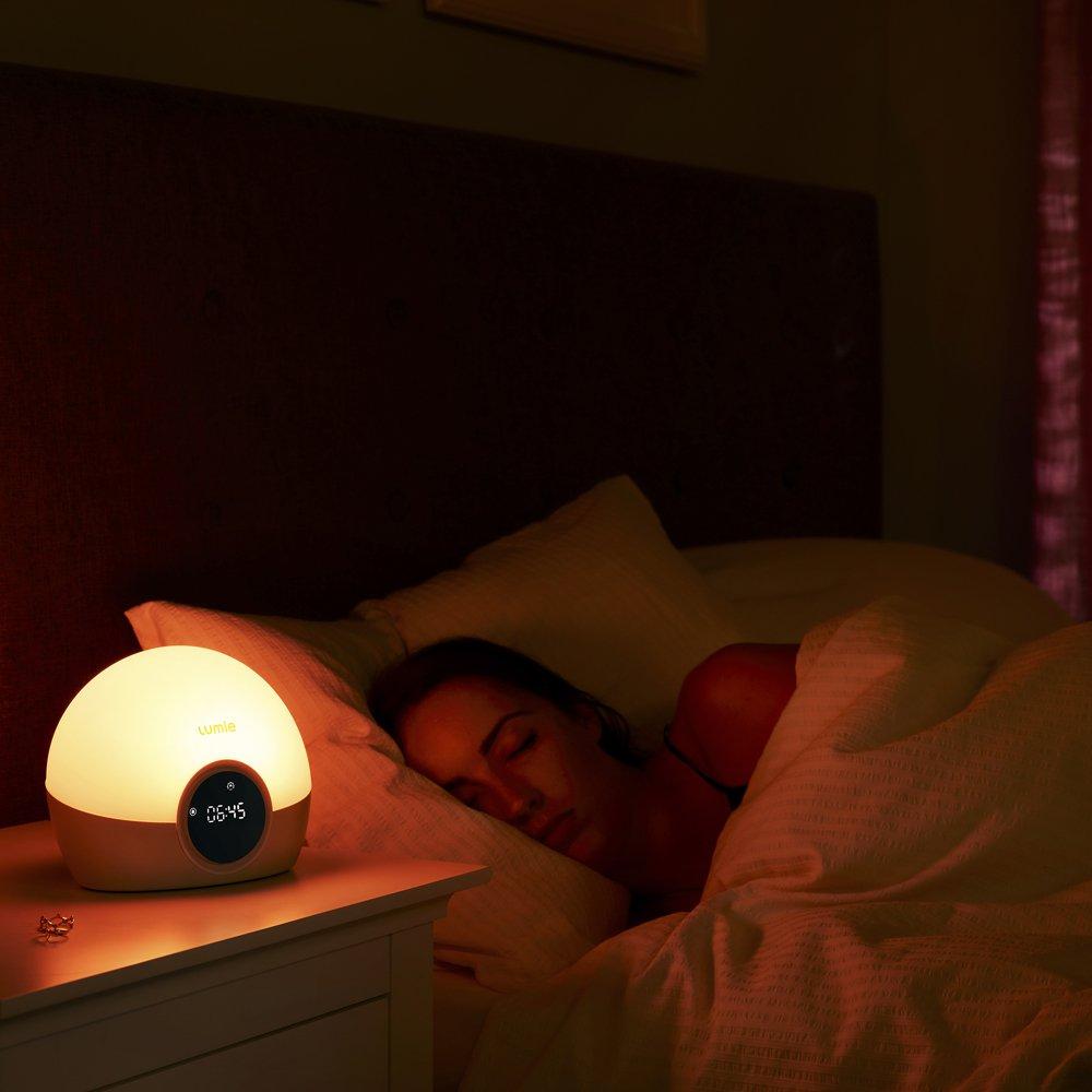 Lumie Bodyclock Spark 100 - Despertador con Luz, Simulación de amanecer, Intensidad y Duración Ajustable, Simulación de Atardecer, Luz Regulable: Amazon.es: ...