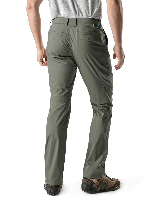 CQR Mens Convertible Pants Zipp Off Stretch Durable UPF 50 Quick Dry Cargo Shorts Trousers TXP402//TXP401 Tesla Gears