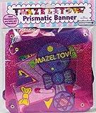 Amazing Mazel Tov ''GIRL'' Prismatic Banner: Ideal Decoration for Any Baby GIRL Celebration!