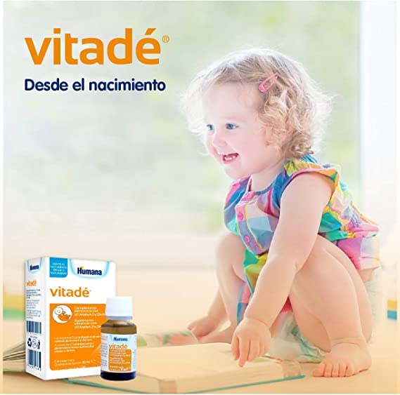 Vitadé - Suplemento Alimenticio con Vitamina D y DHA, 15 ml: Amazon.es: Salud y cuidado personal