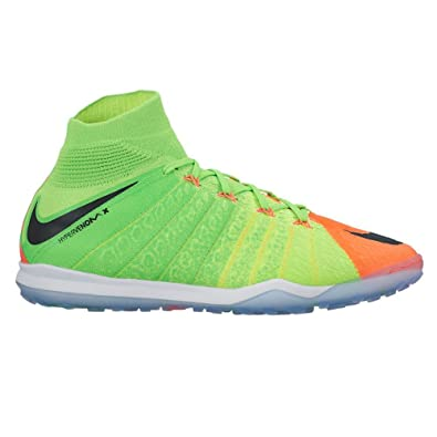 cheap for discount cc60c 6507c Nike Mens Hypervenom Proximo II Dynamic Fit Turf Electric Green Black Hyper  Orange Soccer