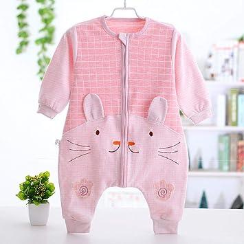 North King - Saco de dormir para bebé, diseño de pijama con muelles y pijamas de algodón de 0 a 3 años extra-large B: Amazon.es: Hogar
