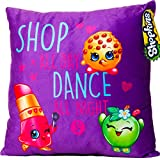 Shopkins Pillow: Lippy Lips, Kooky Cookie, Apple Blossom - Shop All Day Dance All Night