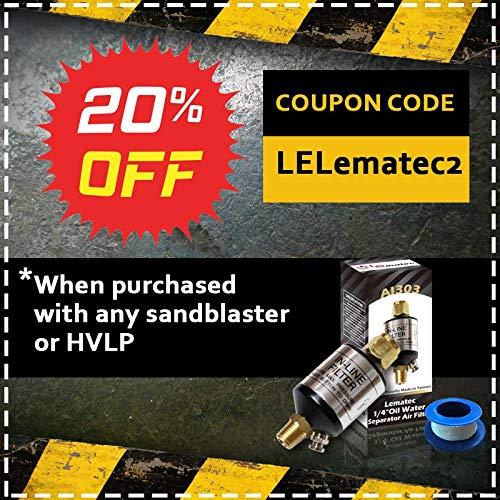 Sandblaster Sand Blaster Gun Kit, Soda Blaster, Professional Sand Blasters,  Media Sandblaster Gun, Spot Blaster, Media Blaster Sandblast Gun, Walnut,
