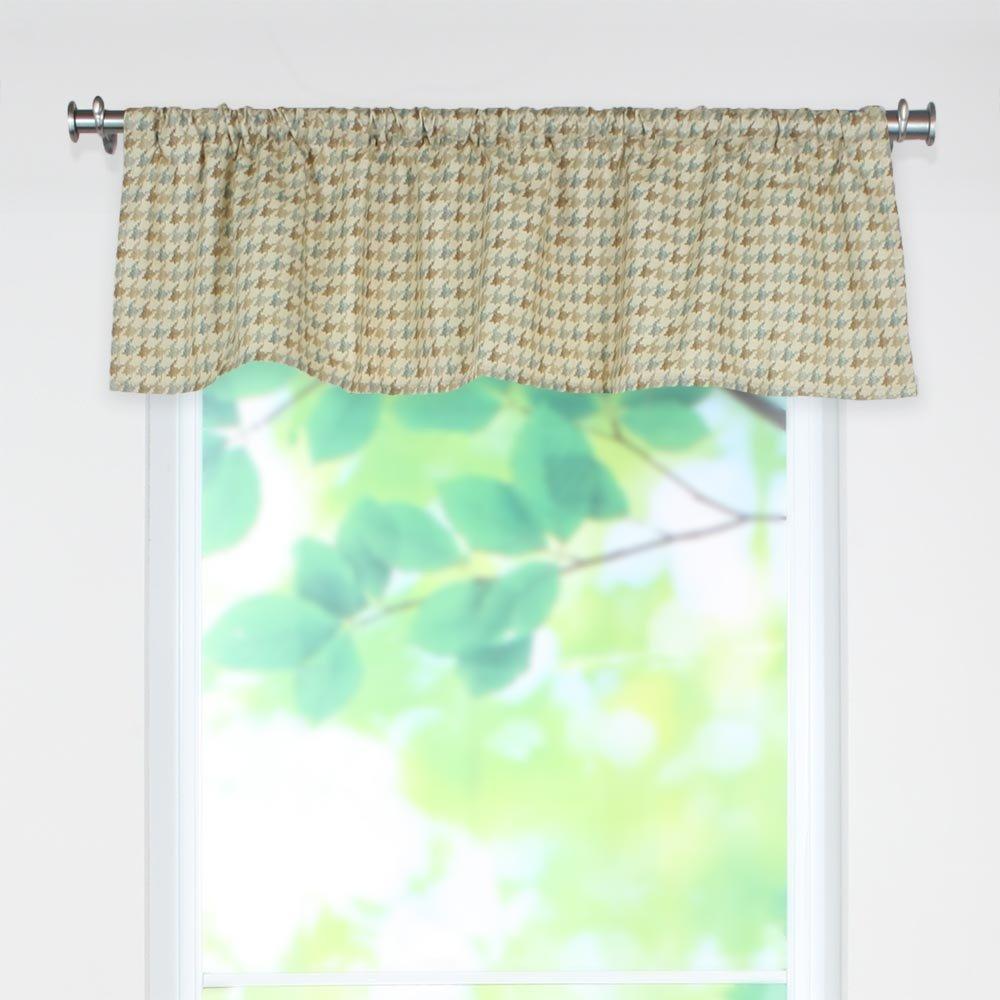 Brite Ideas Living Abilene Seamist 54 by 15 Rod Pocket Curtain Valance