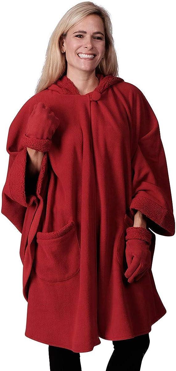Le Moda Women's Hooded...
