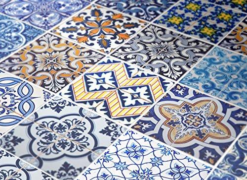 Adhesivos para Azulejos - Paquetes con 32 (PISO, SUELO - 30 x 30 cm, Azulejos Hidráulicos | Decoración de Interiores |...