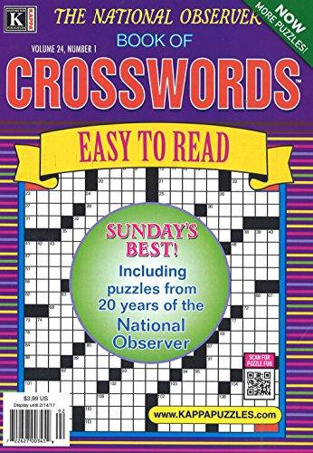 61VneIBUGRL buy the best video games- National Observer Book of Crosswords