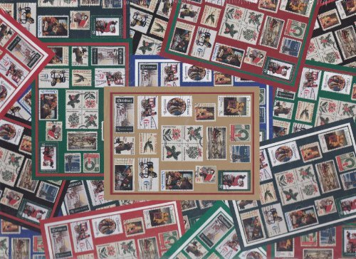 """""""Holiday Traditions"""" 500 Piece Puzzle ~ Designed for the United States Postal Service ~ Holiday Stamps 1997"""