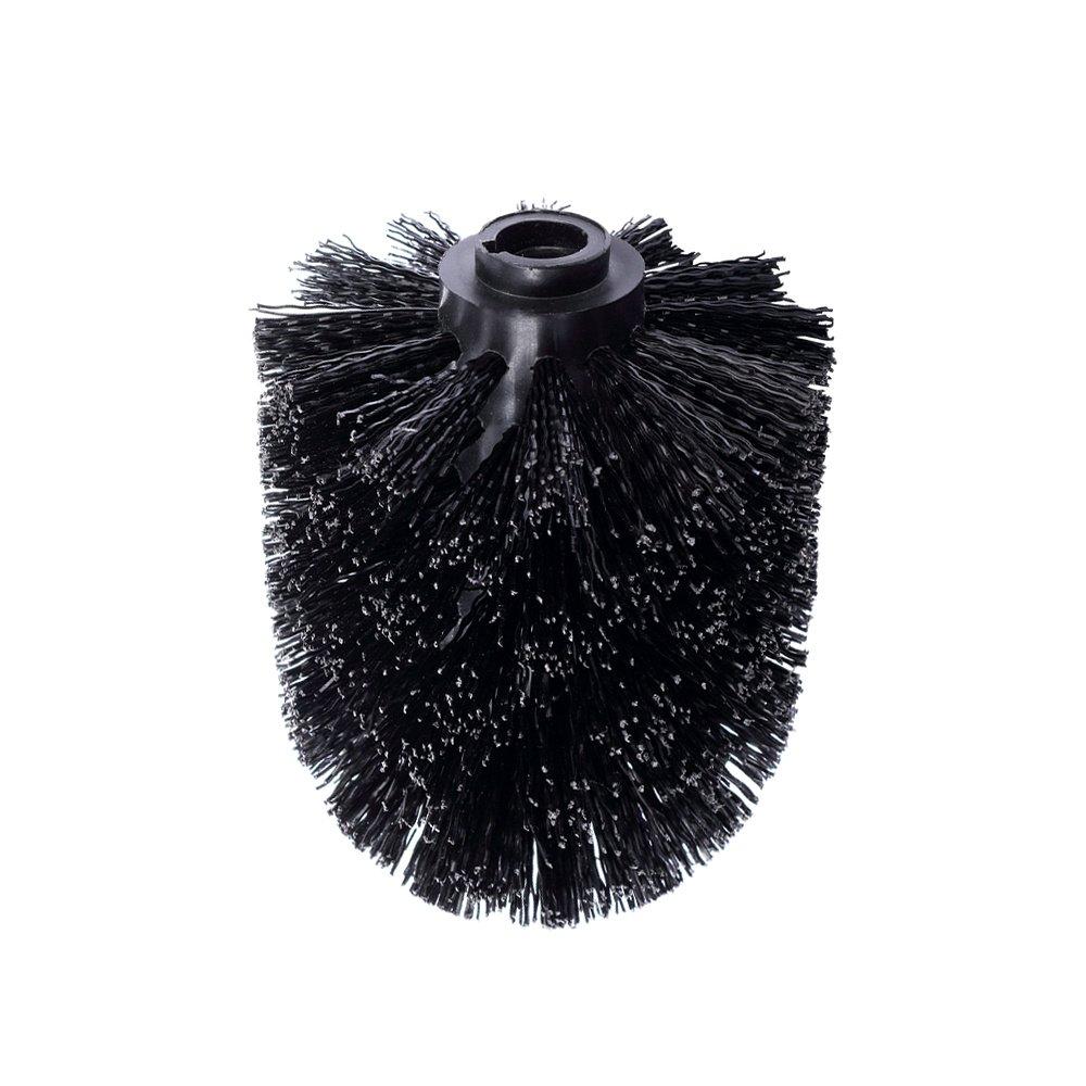 reemplazables Individualmente Color Negro Schramm/® Juego de 6 Cabezales de Repuesto para escobilla de Inodoro