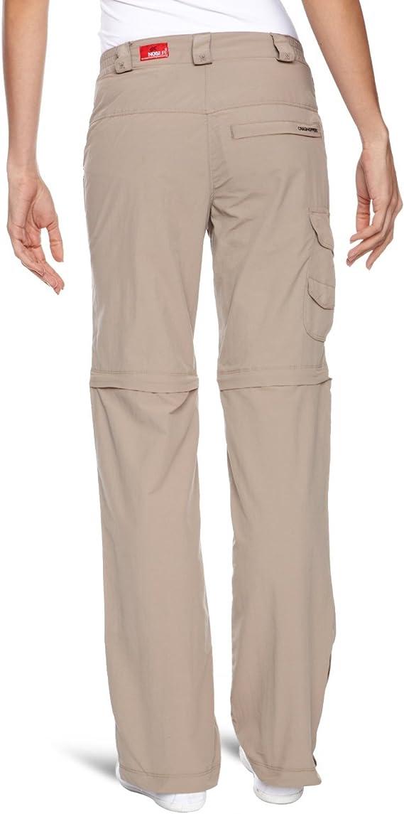 Craghoppers Nosilife Convertible Femme Pantalon 14 L CWJ1110L Zip Off jambes