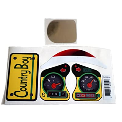 The Toy Restore Replacement Decals fits Little Tikes 30th Anniversary Cozy Coupe John Deere Colors: Toys & Games