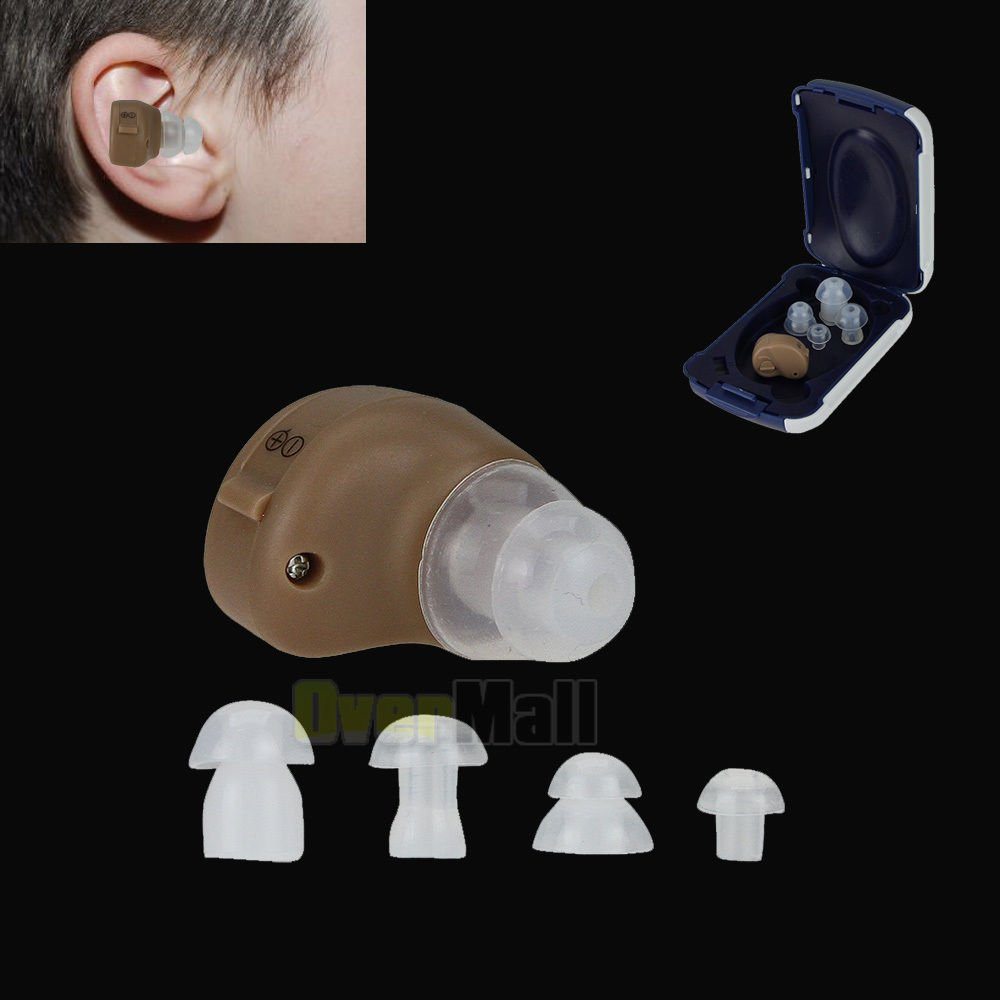 Small In The Ear Invisible Best Sound Amplifier Adjustable Tone Hearing Aids Aid by Generic