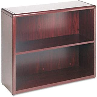 product image for HON 10700 Series Bookcase, 2 Shelves, 36 W by 13-1/8 D by 29-5/8 H, Mahogany