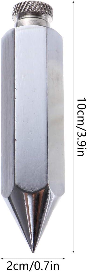 DOITOOL Lotbob-Setter Anh/änger Seilzug Bob Sechskant-Stahllot Baustelle Bob Messwerkzeug Schnellstabilisierung