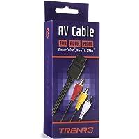 Trenro AV Video Cable Cord for Nintendo 64 N64 TV Game