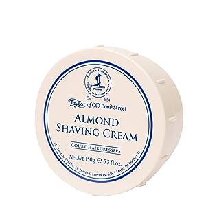 Taylor of Old Bond Street, Almond Shaving Cream Bowl, 5.3 Ounce