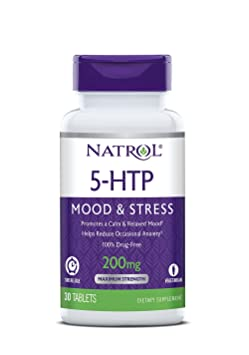 Natrol 5-HTP 200mg Time Release Standard - 30 Cápsulas