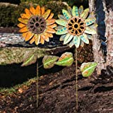 Fall Blooms Garden Stake (Set of 2)