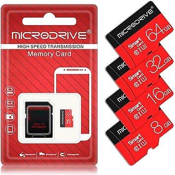 LJ2 Tarjeta Micro SD, Tarjeta de Memoria TF 16GB / 32GB / 64GB ...