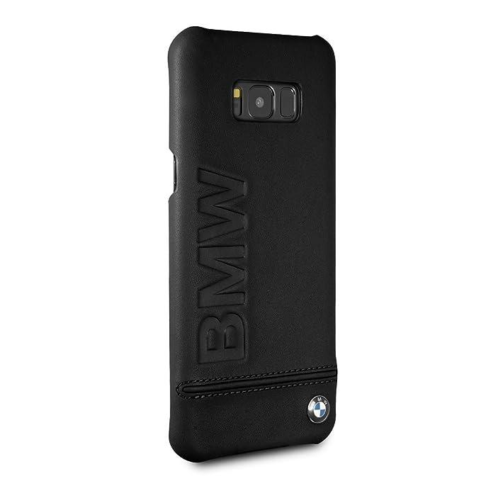 sale retailer 44557 2d218 Amazon.com: BMW Samsung Galaxy S8 Plus Case - by CG Mobile - Black ...