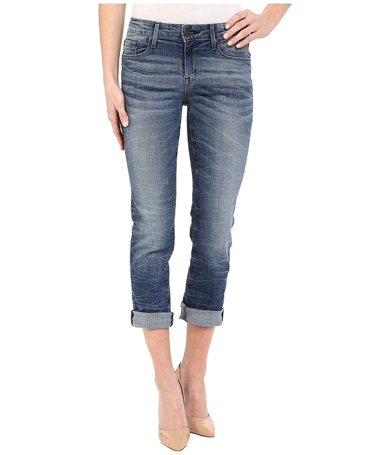 Parker Smith Women's Courtney Cuffed Crop Jeans in