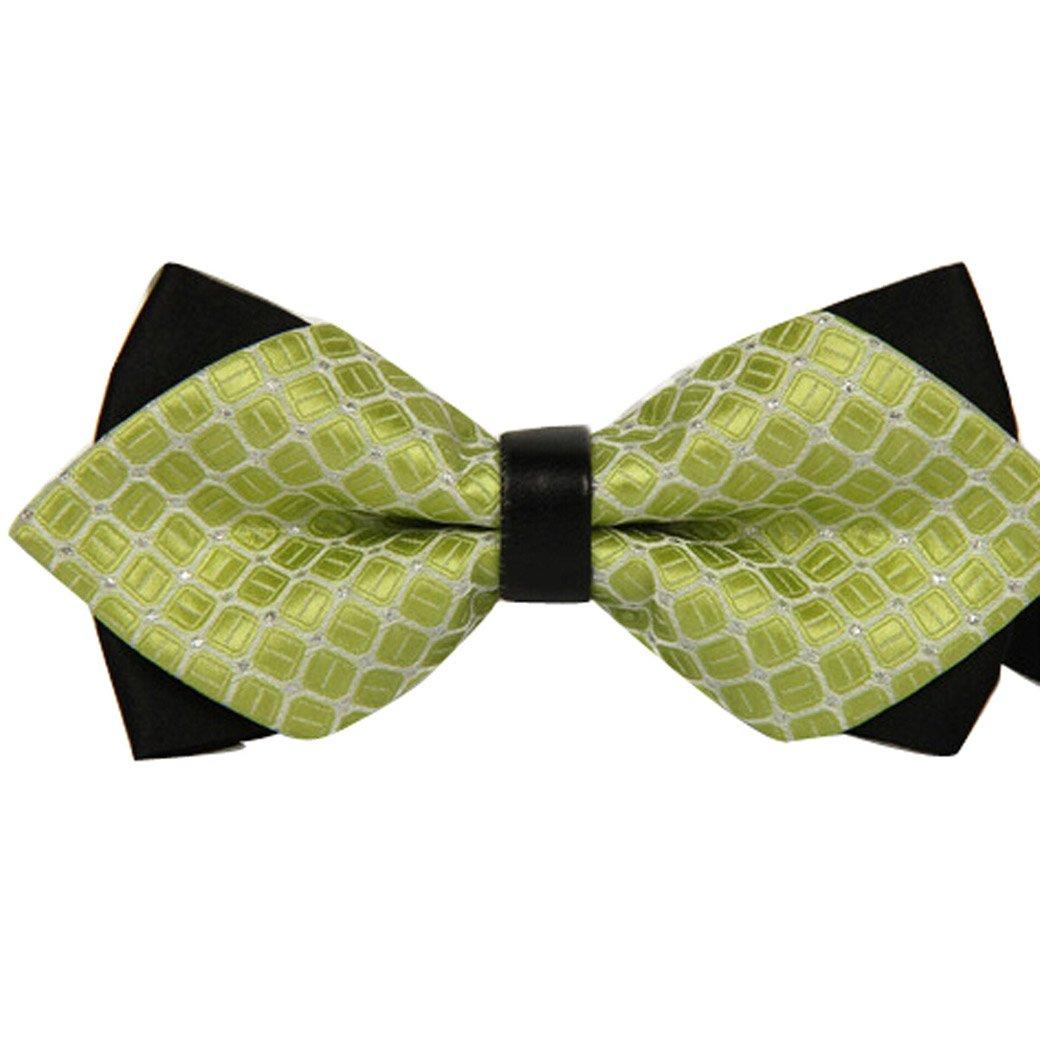 Panegy Pajarita Pre-atada con Textura Bow Tie para Hombre Chico 11 Modelos a Elegir