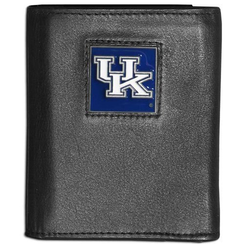 (NCAA Kentucky Wildcats Leather Tri-Fold Wallet)