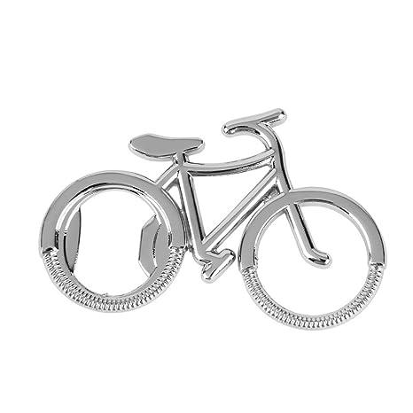 Bicicleta botella abridor Llavero Clave Anillos para bicicleta