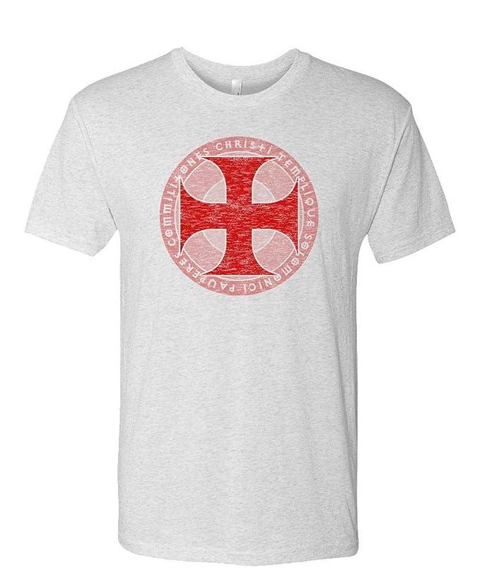 Amazon.com  Live Nice - KNIGHTS TEMPLAR - Mens Cotton T-Shirt  Clothing 5ad060e99c