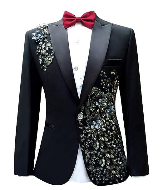 GEORGE BRIDE Mens luxury Casual Blazer Jacket Slim Fit ...