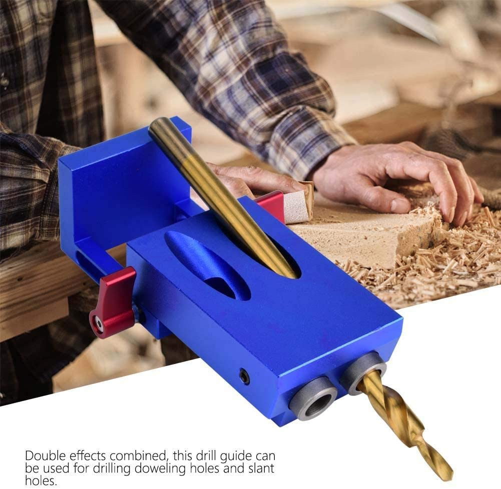 Woodworking Tool Hole Jig Step Drill Bit Set Dowel Hole Drilling Guide Locator Eastbuy Hole Locator