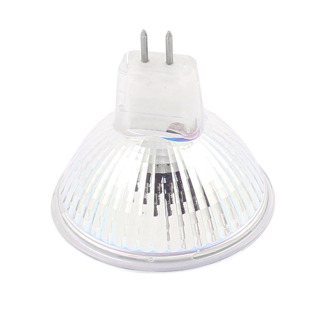 Bombilla eDealMax MR16 29LEDs SMD5050 5W de cristal lámpara ahorro de energía LED calienta 110V blanco de la CA - - Amazon.com