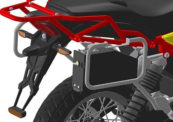 Mytech Werkzeugkoffer Werkzeugkiste 3 2 Liter Toolbox Aluminium Für Moto Guzzi V85tt Schwarz Auto