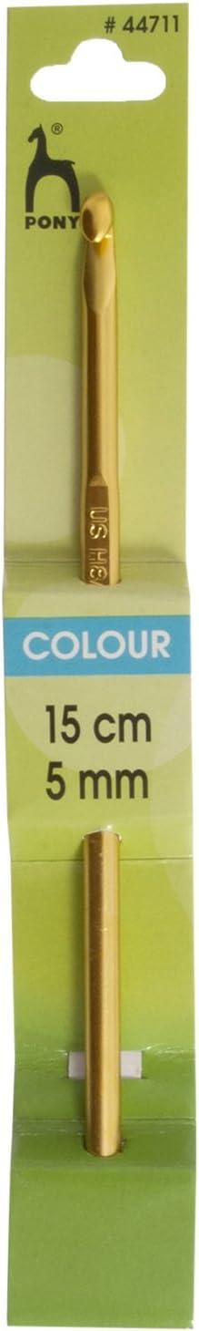 Aluminio Pony Color: Ganchillo: anodizado 15/cm x 5,00/mm Multi 5.1/x 2.9/x 20,8/cm