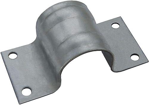 PremiumX abrazadera de mástil 48 - accesorio de mástil de antena de acero galvanizado de 50 mm de diámetro